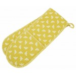 Bee Ochre  double oven glove